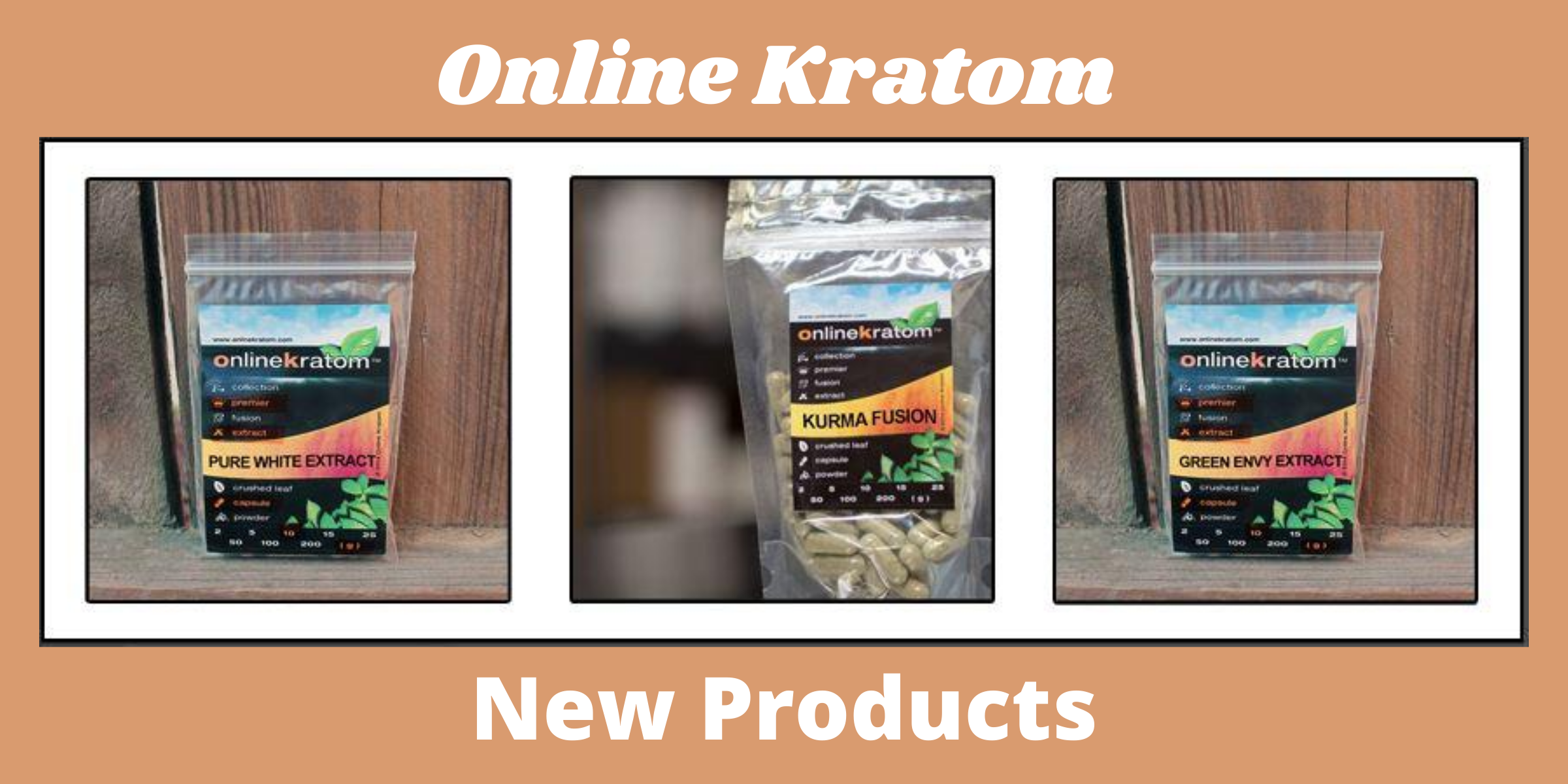 Try our New Products